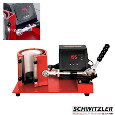 Πρέσσα Θερμομεταφοράς για κούπες Schwitzler Locomotiv PRO