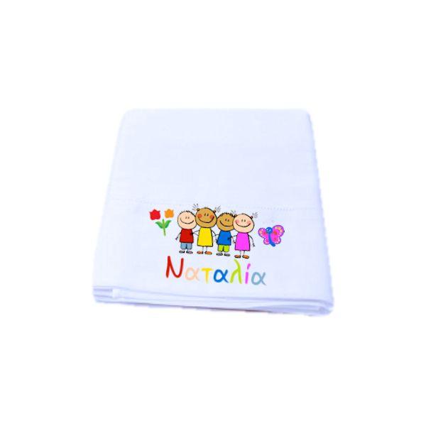 b77104317a Σεντόνι παιδικό για εκτύπωση με θερμομεταφορά – Προσωποποιημένα Δώρα ...