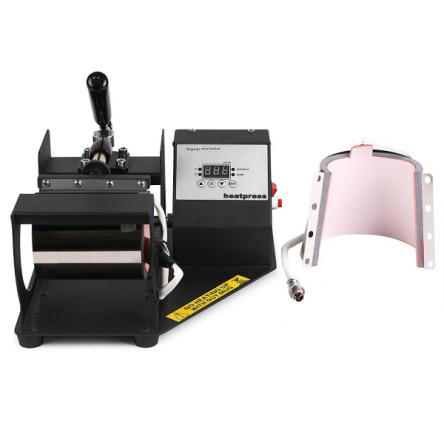 Πρέσα Θερμομεταφοράς για εκτύπωση σε κούπες Hotpren Horizontal 2in1 Mug Press