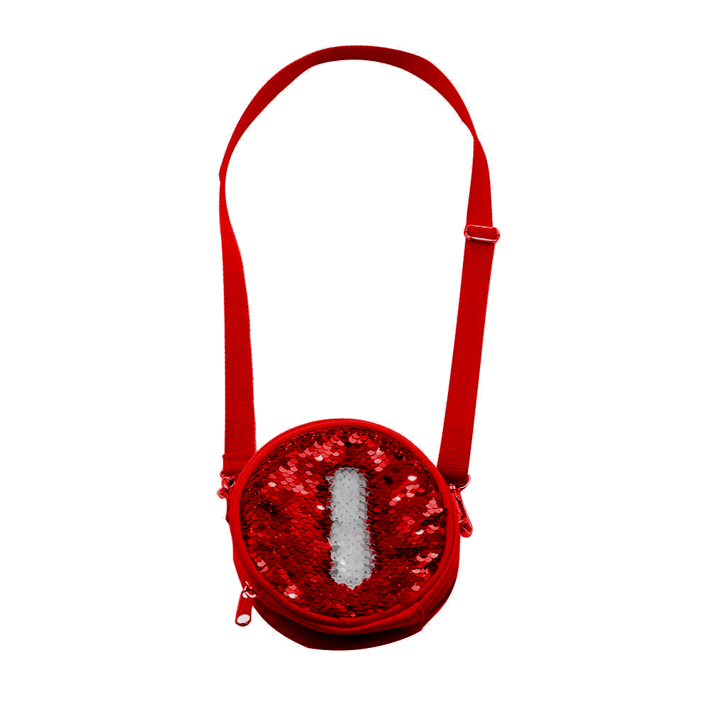 b861818432 Προσωποποιημένο στρογγυλό mini τσαντάκι με πούλιες