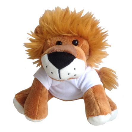 Λιοντάρι με εκτυπώσιμο μπλουζάκι
