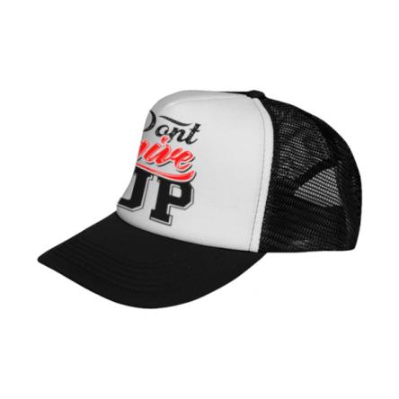 Καπέλο Sublimation με δίχτυ σε μαύρο χρώμα, εξαιρετικής ποιότητας