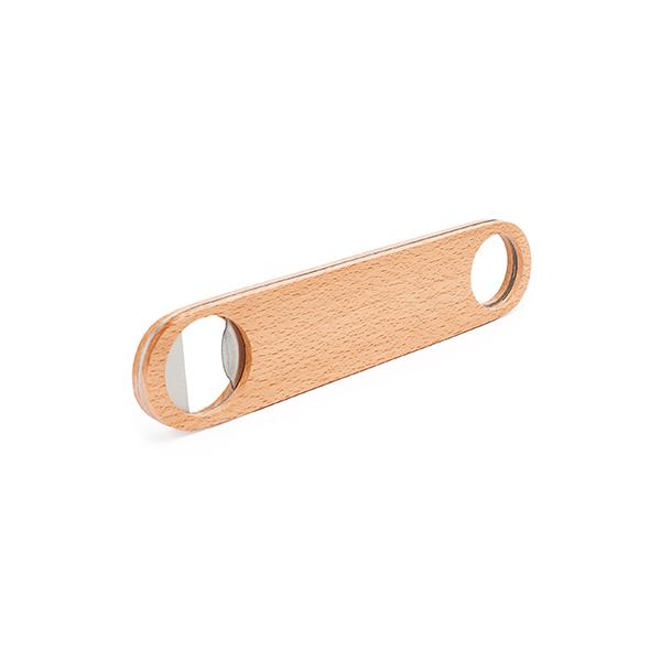 Ξύλινο στρογγυλό ανοιχτήρι για εκτύπωση